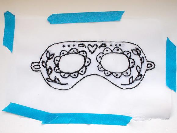 Máscara de tul 4