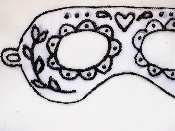 Máscara de tul 5