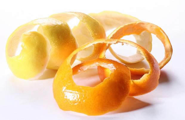 Usos cáscaras de naranja