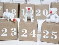 imagen Calendario de Adviento con animalitos