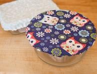 imagen Cobertores de tela para el microondas