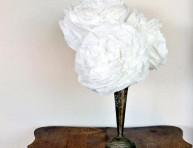 imagen Flor con filtros de café