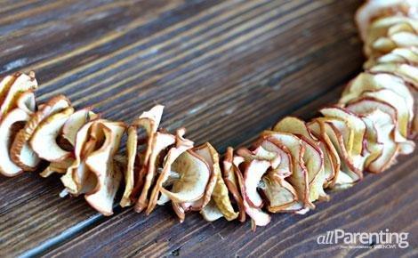 Guirnalda de manzanas 1