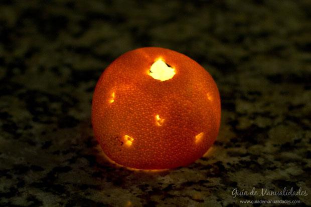 Idea con naranja