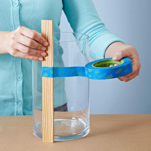 Jarrones decorados con pintura metalizada gu a de for Jarrones de vidrio decorados