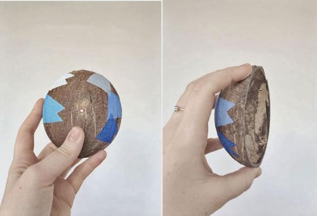 Maceta de coco 3