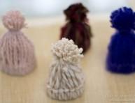 imagen Mini gorritos de lana