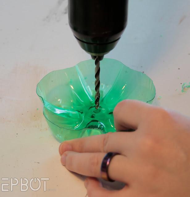 Joyero con botellas plásticas 3