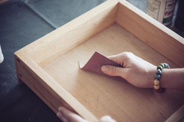 Cajón como estante 2