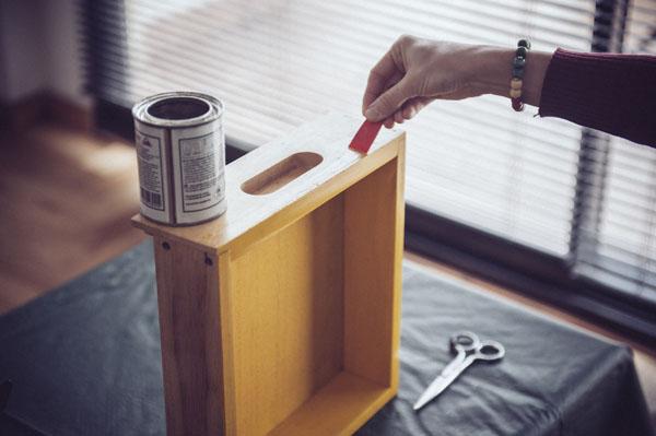 Cajón como estante 5