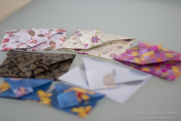 Sobre de origami