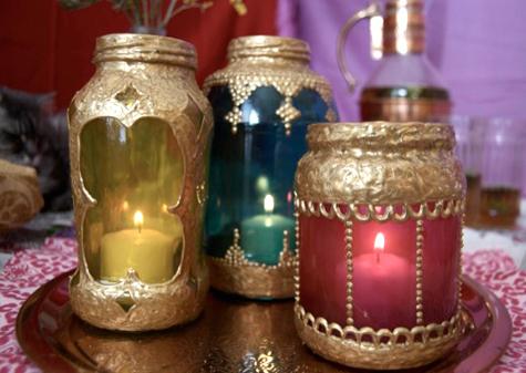 Linternas de estilo marroqui