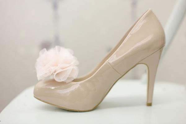 Pompones para los zapatos