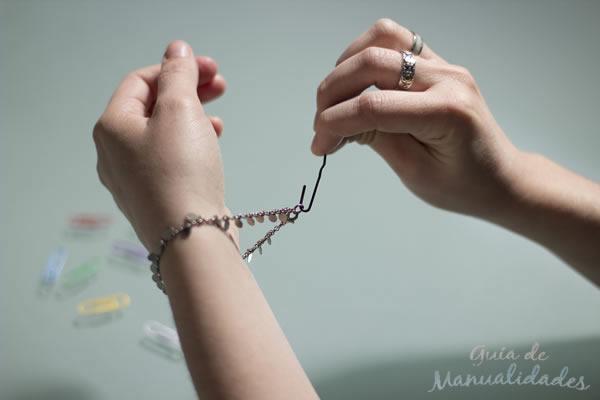 Accesorio para colocarse pulseras