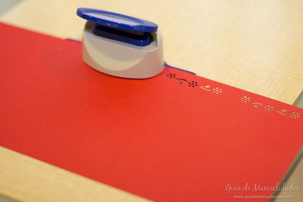 Adorno navidad de papel 3