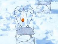 imagen Adornos navideños congelados para el exterior
