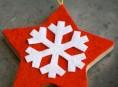 imagen Adornos navideños hechos con fieltro