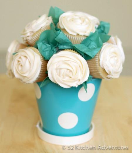 Bouquet de cupcakes 1