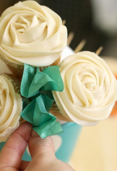 Bouquet de cupcakes 6