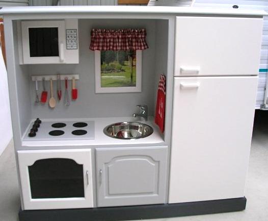 De mueble de TV a cocina para pequeñas - Guía de MANUALIDADES