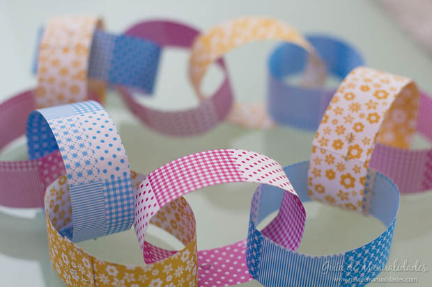 Guirnaldas f ciles de papel para decorar en minutos gu a - Guirnaldas navidad manualidades ...