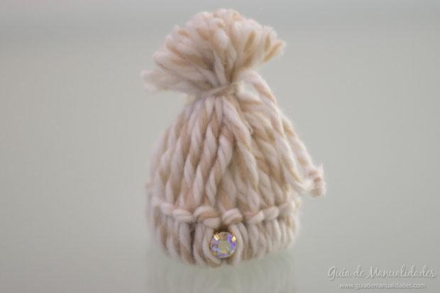 Mini gorritos de lana 3