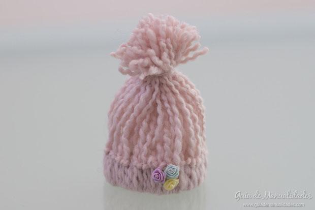 Mini gorritos de lana 5