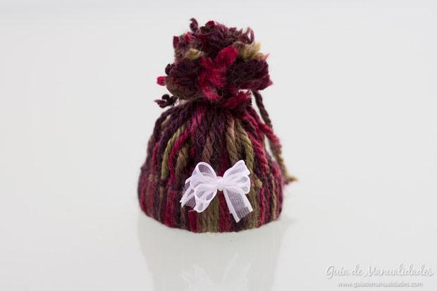Mini gorritos de lana 6
