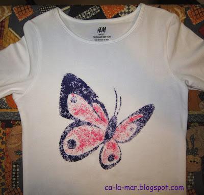 Camisetas personalizadas con crayones 3