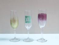 imagen Decora tus copas para un brindis brillante por el nuevo año
