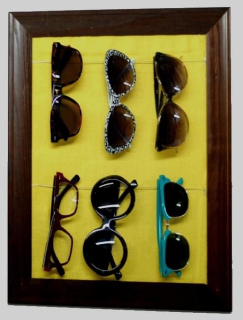 Expositor para gafas de sol DIY 1