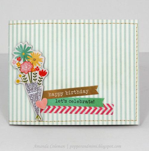 Cartera de papel para tarjetas de regalo 1
