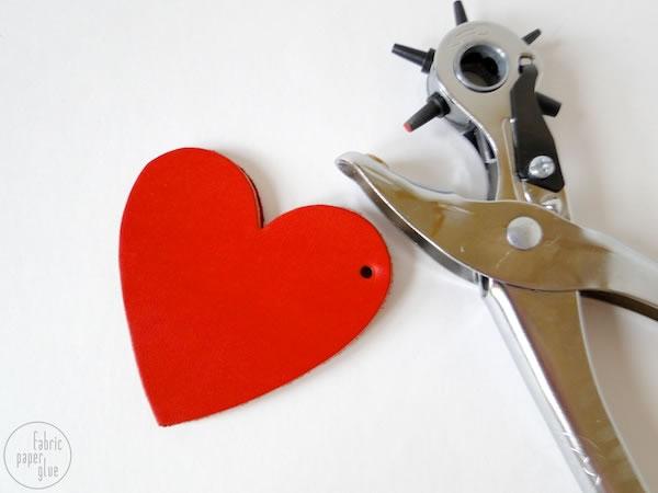 Monedero corazón 3