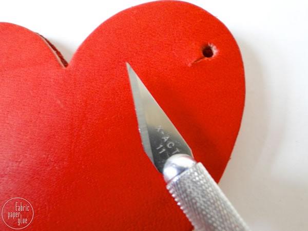 Monedero corazón 4