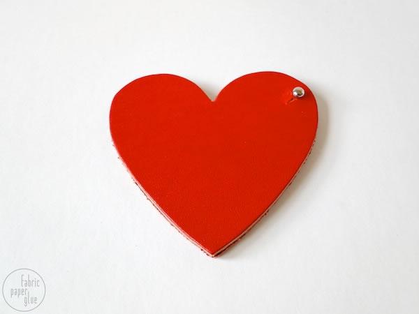 Monedero corazón 5
