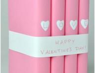 imagen Libros decorados por San Valentín
