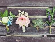 imagen Detalles florales de ojal para bodas