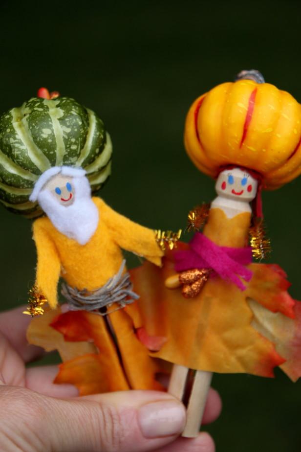 Gente de hoja para el jardín 10
