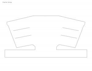 Envoltorio de papel para macetas - Patrón