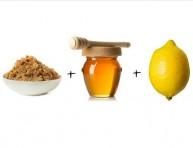 imagen Exfoliante natural a base de azúcar morena y miel