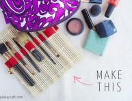 imagen Funda para brochas de maquillaje de estilo japonés