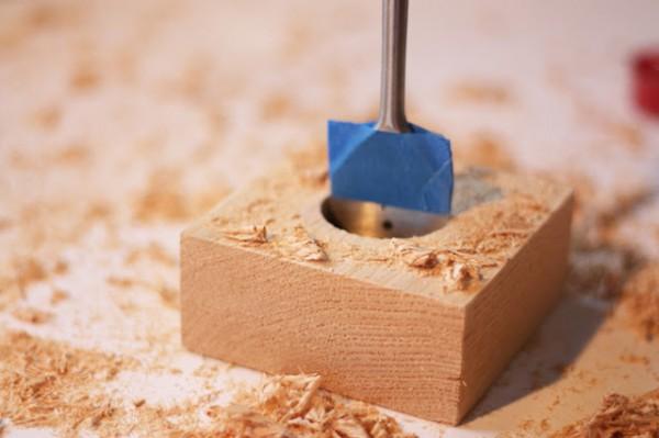Portavelas de madera paso a paso gu a de manualidades - Como fabricar maceteros de madera ...
