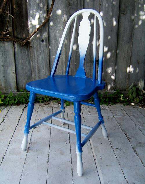 Técnica de degradado para muebles 8