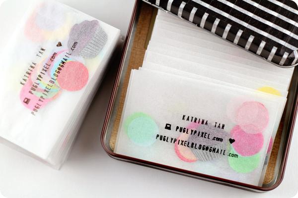 Tarjetas personalizadas con confeti 1