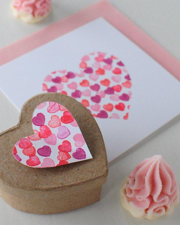 Tarjetas personalizadas para San Valentín - Guía de MANUALIDADES