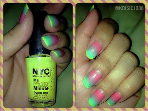 Uñas multicolor 1