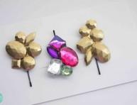 imagen Clips con gemas para el cabello