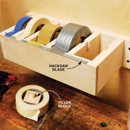 Dispensador de cintas adhesivas 1