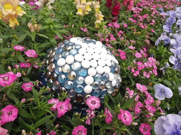 Esferas de jardín 6