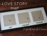 imagen Mapa histórico de tu amor por San Valentín